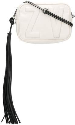 Zadig & Voltaire Logo Stitched Cross Body Bag