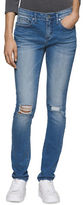 Calvin Klein Distressed Skinny Jeans - Busted Out