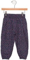 Caramel Baby & Child Girls' Straight-Leg Printed Pants