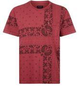 True Religion Bandana Print T-shirt