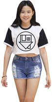Me Women's The Neighbourhood Crop T-shirt