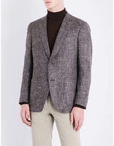 Richard James Hopsack Regular-fit Silk
