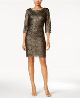 Ivanka Trump Metallic Lace Dress