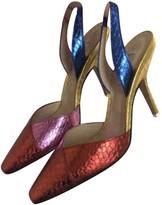 ATTICO Multicolour Water snake Sandals