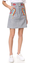 Olympia Le-Tan Early Pearl Skirt