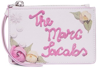 Marc Jacobs The Box printed cake wallet