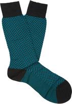 Pantherella Hatton wool-blend socks