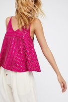 Free People Paths Cross Embellished Cami