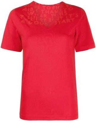 MM6 MAISON MARGIELA V-neckT-shirt
