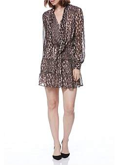 Paige Psychedeleic Leopard Cleobelle Dress
