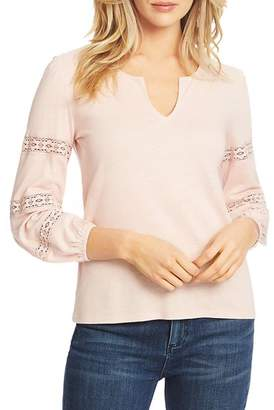 1 STATE 1.STATE Crochet Inset Top