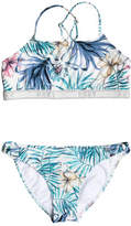 Roxy Blingbling Surf Crop Top Set 2 Pc