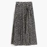 J.Crew Silk skirt in Ratti® polka dot