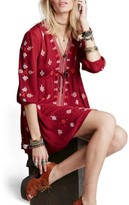 Free People Women's 'Star Gazer' Embroidered Tunic Dress