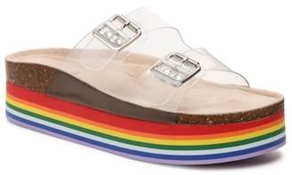 Madden-Girl Purr Platform Sandal