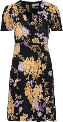 By Ti Mo Bytimo Floral-print Crepe De Chine Mini Dress