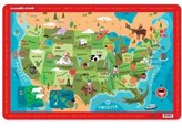 Crocodile Creek Placemat - USA Map [Toy]