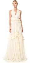 Maria Lucia Hohan V Neck Gown