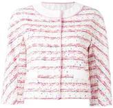 Moschino three-quarters sleeve jacket - women - Cotton/Polyamide/Polyester/other fibers - 44