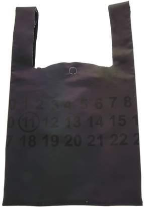 Maison Margiela Wine Fabric Handbag