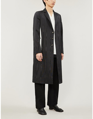 NICOMEDE Relaxed-fit checked woven jacket