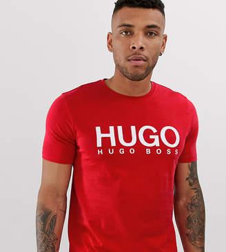 HUGO Dolive logo t-shirt in red