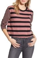 Splendid Stripe Cropped Sweater