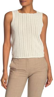 Theory Crocheted Tank Top