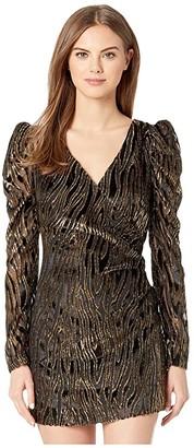 Rachel Zoe Amari Dress (Black) Women's Dress