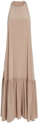 Tibi Silk CDC Crepe Dress