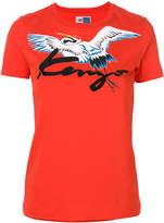 Kenzo bird patch T-shirt