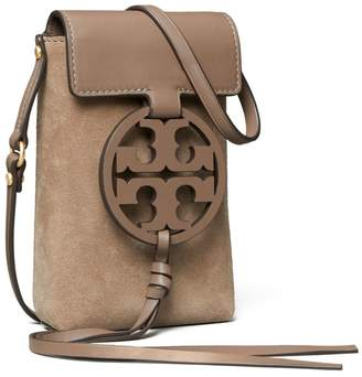 Miller Suede Phone Crossbody