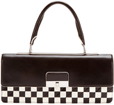 Louis Vuitton Brown Damier Mosaic Enveloppe East-West Pochette