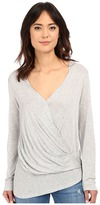 Lanston Long Sleeve Asymmetrical Surplice