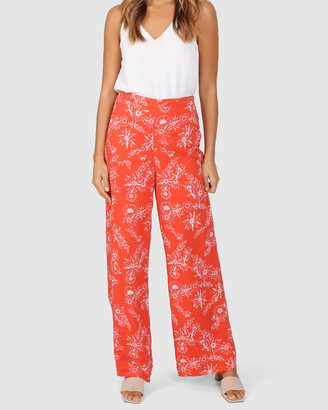 Lost in Lunar - Women's White Dress Pants - Esther Pants - Size One Size, 10 at The Iconic