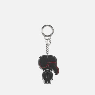 Karl Lagerfeld Paris Women's K/Iconic Keychain - Black