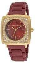 BCBGMAXAZRIA Bracelet Burgundy Dial Women's Watch #BCBG8280