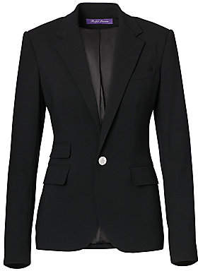 Ralph Lauren Women's Iconic Style Parker Wool Jacket - Size 0