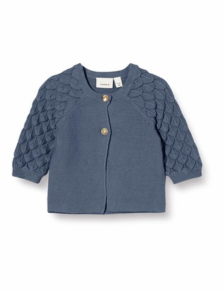 Name It Baby_Girl's NBFFOLIRA LS Knit Card Cardigan Sweater