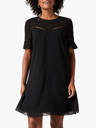 Phase Eight Anjelica Swing Dress, Black