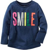 Carter's Toddler Girl Slubbed Graphic Tee