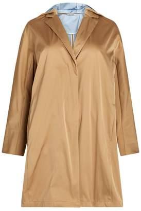 Marina Rinaldi Hooded Raincoat
