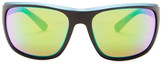 Revo Men's Remus Polarized Wrap Sunglasses