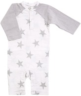 Aden Anais aden + anais - Long Sleeve Henley One-Piece Kid's Jumpsuit & Rompers One Piece