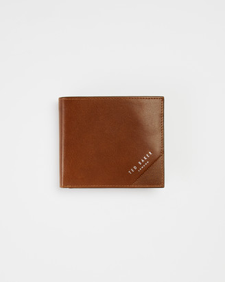 Ted Baker PRUG Leather bifold wallet with coin pocket