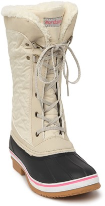 Northside Sacramento Faux Shearling Lined Duck Boot - Wide Width