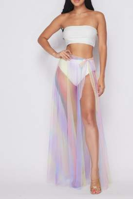 Timeless Cotton Candy Skirt