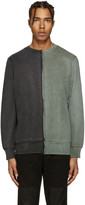Diesel Black & Green S-Double Sweatshirt