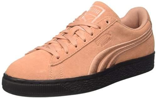 Badge Classic Suede Flip SneakersMuted Black Em Low Clay Top j54ARL3