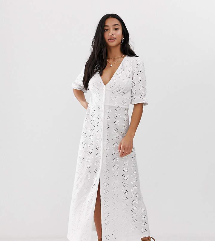 7c1506109d0 Asos White Maxi Dresses - ShopStyle